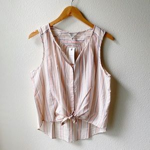 LUCKY BRAND Striped Tank Top - Medium NWT